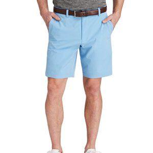 "Mens Golf 9"" Performance Fairway Shorts Ocean Bree"